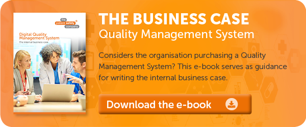 Business case Quality & Risk Management System